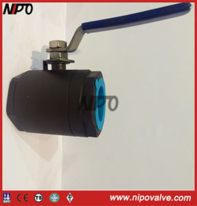 Forged Steel 2-PCS Floating Threaded Ball Valve pictures & photos