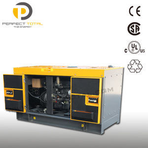 25kVA Silent Diesel Generator Set with Yanmar Engine pictures & photos