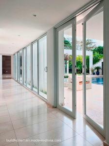 Multiple Points Locking System Heavy Duty Balcony Aluminium Sliding Doors pictures & photos