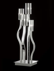 New Design Modern Glass Table Lamp for Decorationhotel Resort (T6909-4) pictures & photos