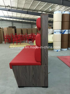 Custom Built Wooden Frame Upholstery Restaurant Office Booth Seating pictures & photos