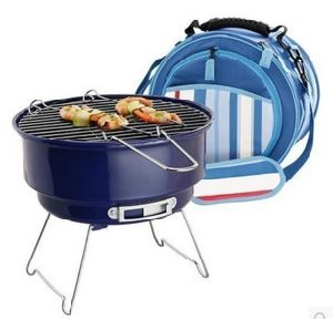 2016 Hot Sell Portable BBQ Charcoal BBQ Grill with Cooler Bag (SP-CGT04) pictures & photos