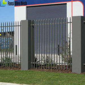 Powder Coated Tubular Spear Top Steel Fence for Security pictures & photos