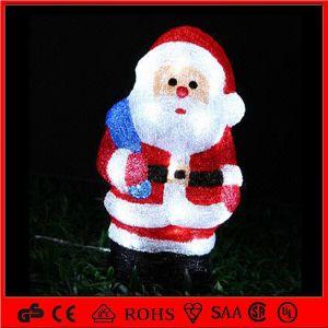 3D Acrylic Christmas Man Motif Outdoor Christmas Decoration Light pictures & photos