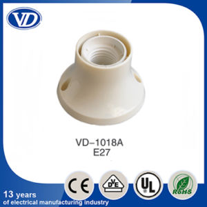 E27 Plastic Lamp Holder for Ceiling Rose Vd-1018A pictures & photos