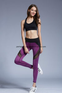 High Quality Women Fitness Pants Yoga Leggings Workout Suit pictures & photos