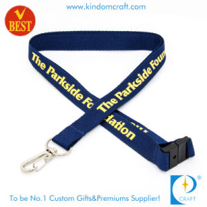 Custom 3D Screen Printed Mobile Phone Strap with Safety Lock pictures & photos