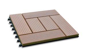 Outdoor Tile For Patio, Wood Composite Plastic Deck Tiles