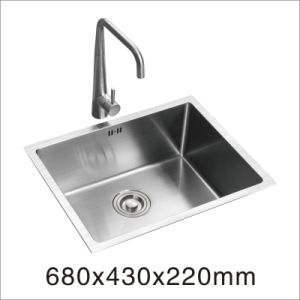 Kitchen Stainless Hand Made Sink (6843s) pictures & photos