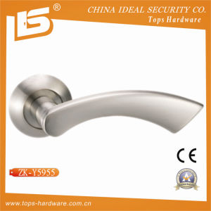 Aluminum Door Handle and Lock Handle (ZK-Y5955) pictures & photos