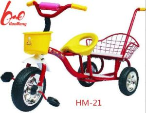 Reliable Quality Kids Tricycle with Back Seat pictures & photos