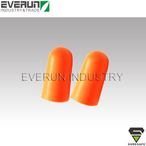 ER9261A1 CE EN352 Disposable Soundproof Sleeping PU Foam Earplugs pictures & photos