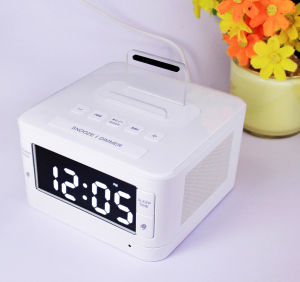 LCD Display Radio Speaker Clock pictures & photos
