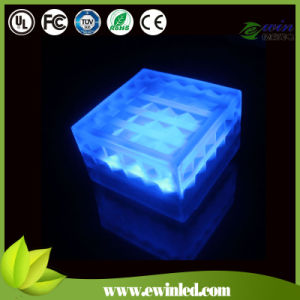 White LED Brick Lights with Glass Paver Surface+PC Plastic Base pictures & photos