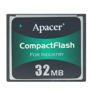 Apacer Compactflash for Industry 32MB Compact Flash CF Industrial Memory Card pictures & photos