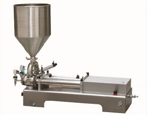 Zhonghuan Semi-Automatic Cream Filling Machine pictures & photos