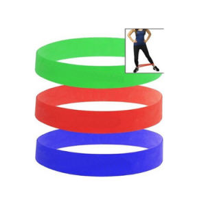 Stretch Workout Colorful Ballet Exercise Yoga Band for Dance & Gymnastics Training pictures & photos