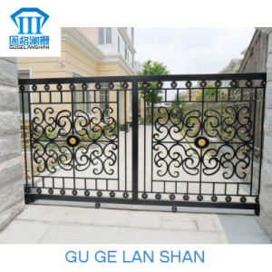 High Quality Crafted Wrought Iron Gate 019 pictures & photos
