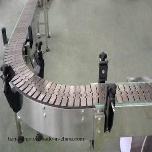 Adjustable Speed Slat Plate Chain Conveyor pictures & photos