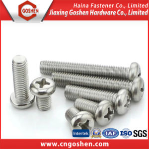 ISO7045 Cross Pan Head Machine Screw pictures & photos