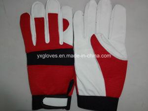 Leather Glove-Industrial Glove-Work Glove-Safety Glove-Cotton Glove-Glove pictures & photos