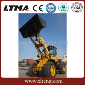 Ltma High Quality 4 Ton Mini Wheel Loader with Low Price pictures & photos