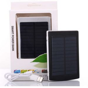 10000mAh LED Portable Battery Solar Mobile Phone Charger Power Bank pictures & photos