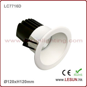 New Product 12W LED Recessed Downlight with White Color LC7716D pictures & photos