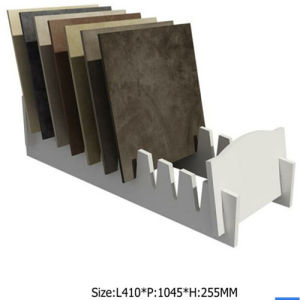 Asd-31 White Tile Display Stand/ Display for Stone Promotion pictures & photos