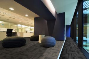 Nylon Office Carpet Tiles with PVC Backing pictures & photos