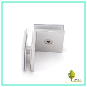 Hot-Sale 90 Degree Arc Edge Square Glass Clamp/ Zinc Alloy Glass Clamp pictures & photos