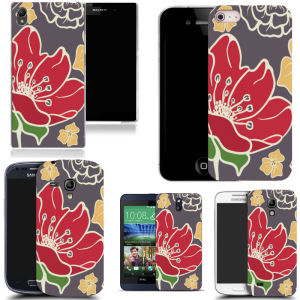 Cute Paint Pattern Hard Back Phone Case Cover for Samsung Galaxy Note 4 N9100