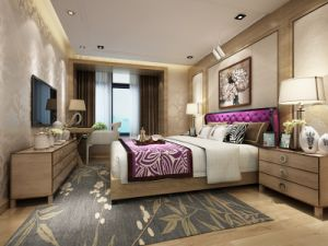Single Room Set Hotel Furniture / Approved by TUV (alx-012)