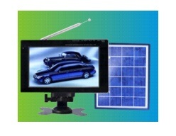 Fashionable MP2 Video Function 7inch Solar TV (SZYL-STV-706) pictures & photos