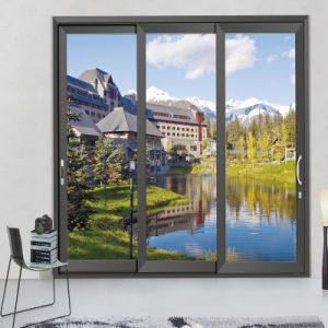 Feelingtop Thermal Break Aluminium Arch Sliding Window pictures & photos