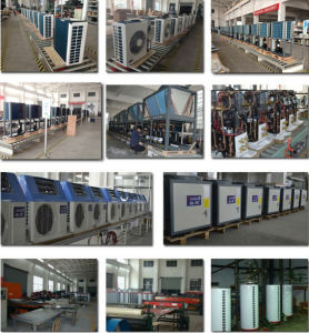 China Amb 20c Output 90deg C Hot Water R134a R410a Cop3