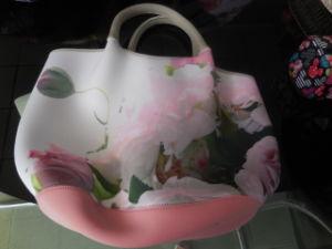 Pink White Assorted Generous Tote Bag Neoprene Handbag pictures & photos