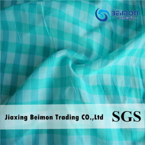 9mm: 25%Silk 75%Cotton Yarn Dyed Checked Fabric for Shirt pictures & photos