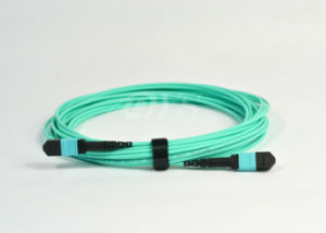Standard Insertion Loss MTP-MTP Om3 Fiber Patch Cord pictures & photos