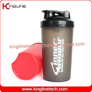 700ml plastic shaker bottle with lid (KL-7034) pictures & photos