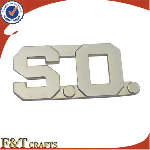 Souvenir Gold Plated Custom Security Uniform Metal Military Badges (FTBG1272A) pictures & photos