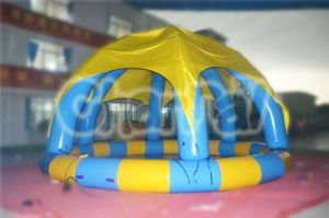 Inflatable Swimming Pool with Dome Tent (CHW311) pictures & photos