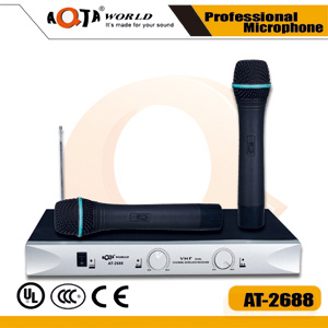 Professional VHF Wireless Microphone System for Teaching and Speech