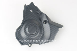 Carbon Fiber Motorcycle Sprocket Cover for Aprilia Rsv4 2009 pictures & photos
