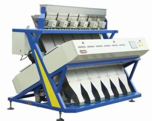New Model Color Sorter National Patent Ejector High Quality Vsee Rice 5000+Pixel RGB Color Sorter pictures & photos