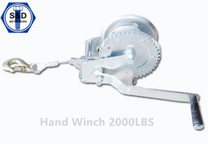 2000lbs Hand Winch Marine Winch pictures & photos