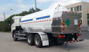 16m3 LNG Cryogenic Liquid Transport Tanker pictures & photos