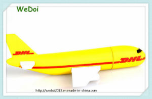 New DHL Airplane Shape PVC USB Flash Drive (WY-PV57) pictures & photos