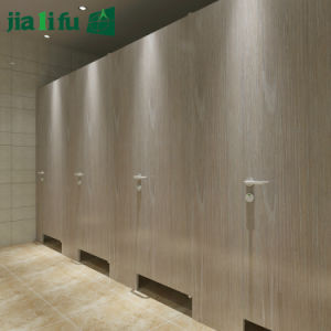 Jialifu Wood Grain Phenolic Resin Toilet Partition pictures & photos