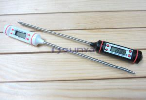 Instant Read 15/30/50cm Pin Probe Digital Food Cooking Thermometer pictures & photos